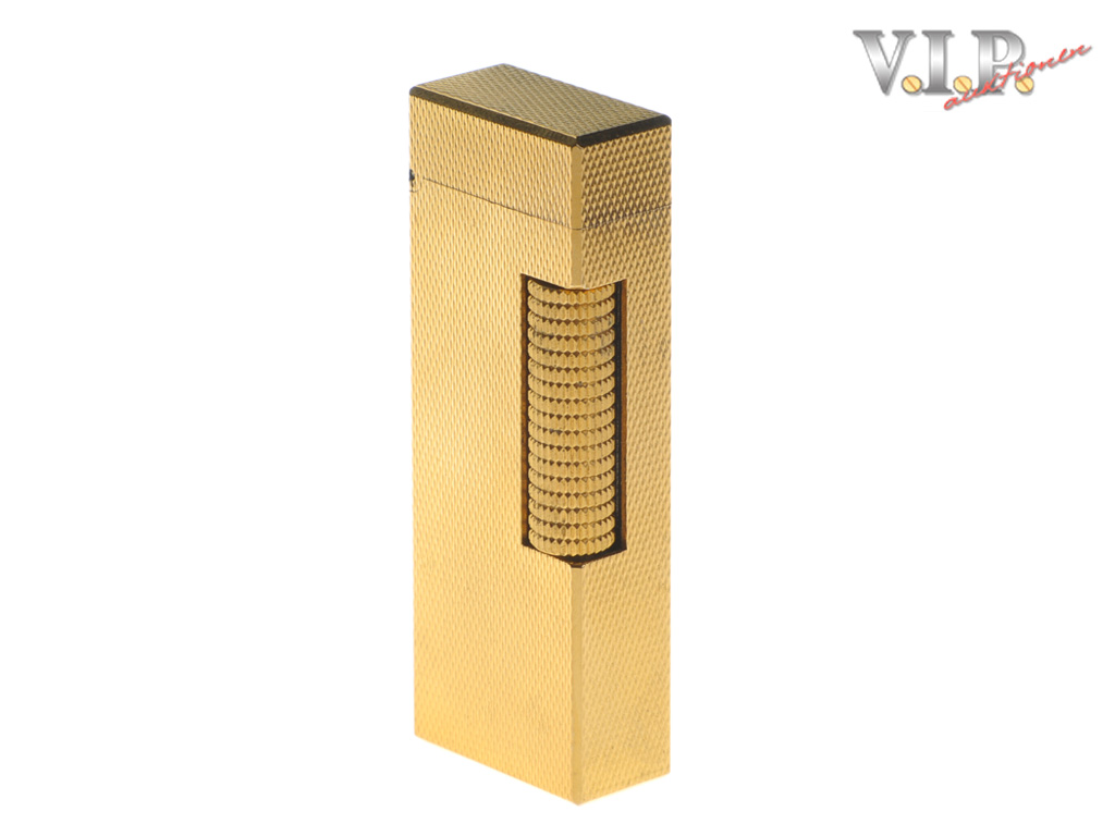 dunhill rollagas briquet feuerzeug gold finish lighter. Black Bedroom Furniture Sets. Home Design Ideas
