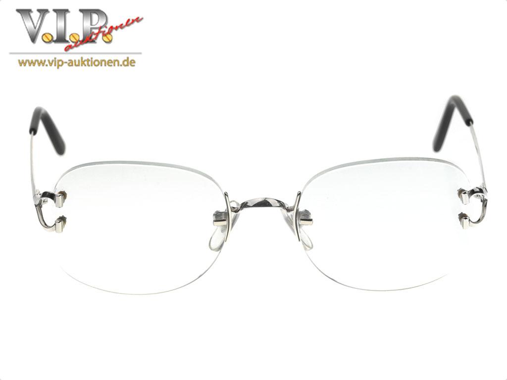 Rimless Glasses Spare Parts : CARTIER BEZEL RIMLESS GLASSES RIMLESS EYE-GLASSES PLATINUM ...
