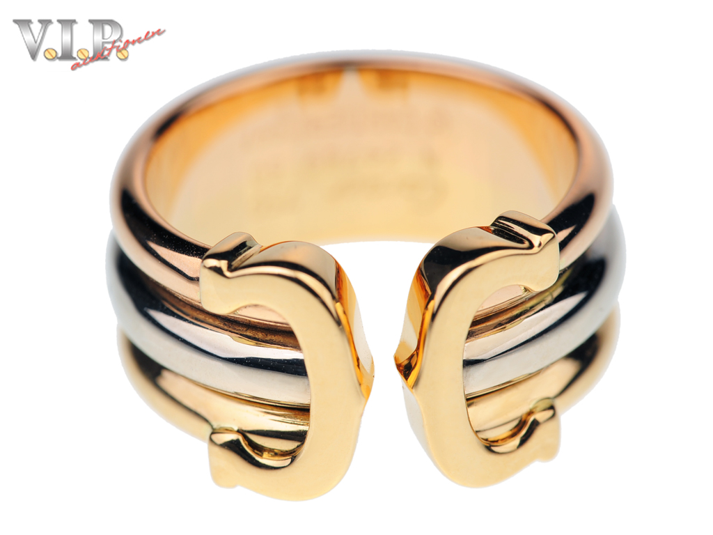 Cartier Double C Decor Ring