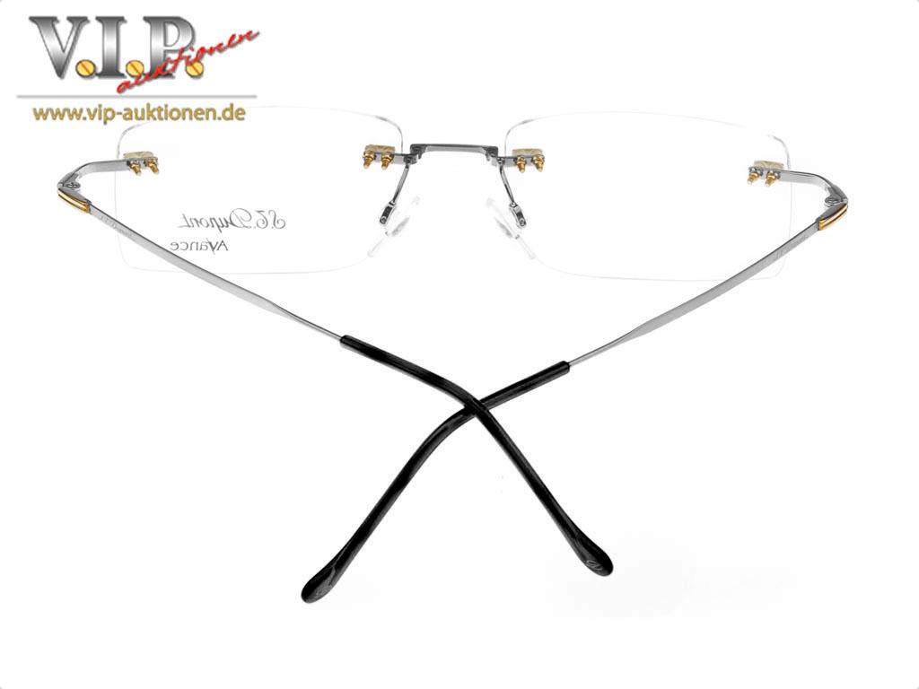 st dupont lunette randlose brille sonnenbrille rimless. Black Bedroom Furniture Sets. Home Design Ideas