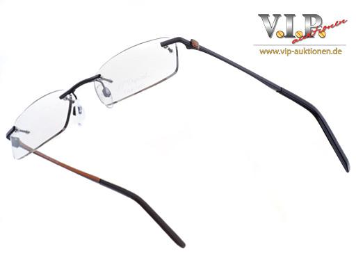st dupont lunette glasses glasses frame rimless rimless
