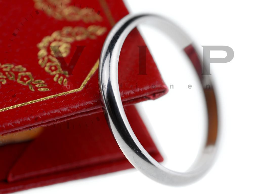Cartier La Bague Alliance Ring 950.platin Wedding Band Platinum | eBay