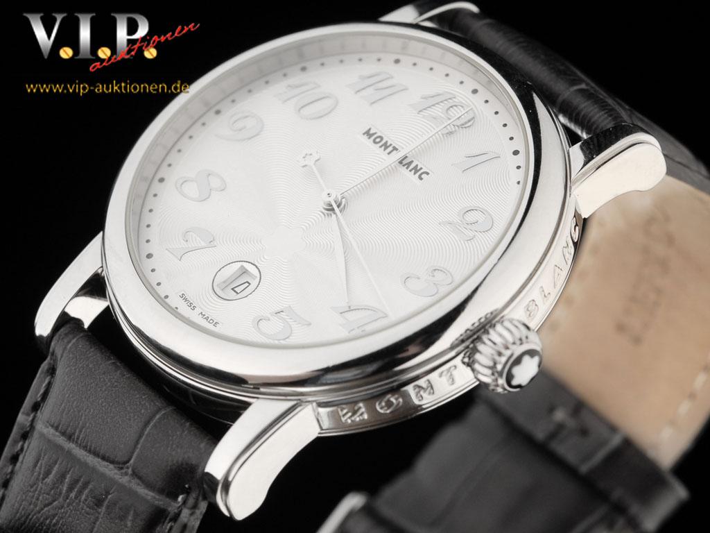 montblanc star date xl montre uhr herrenuhr unisex watch orologio reloj top ebay. Black Bedroom Furniture Sets. Home Design Ideas