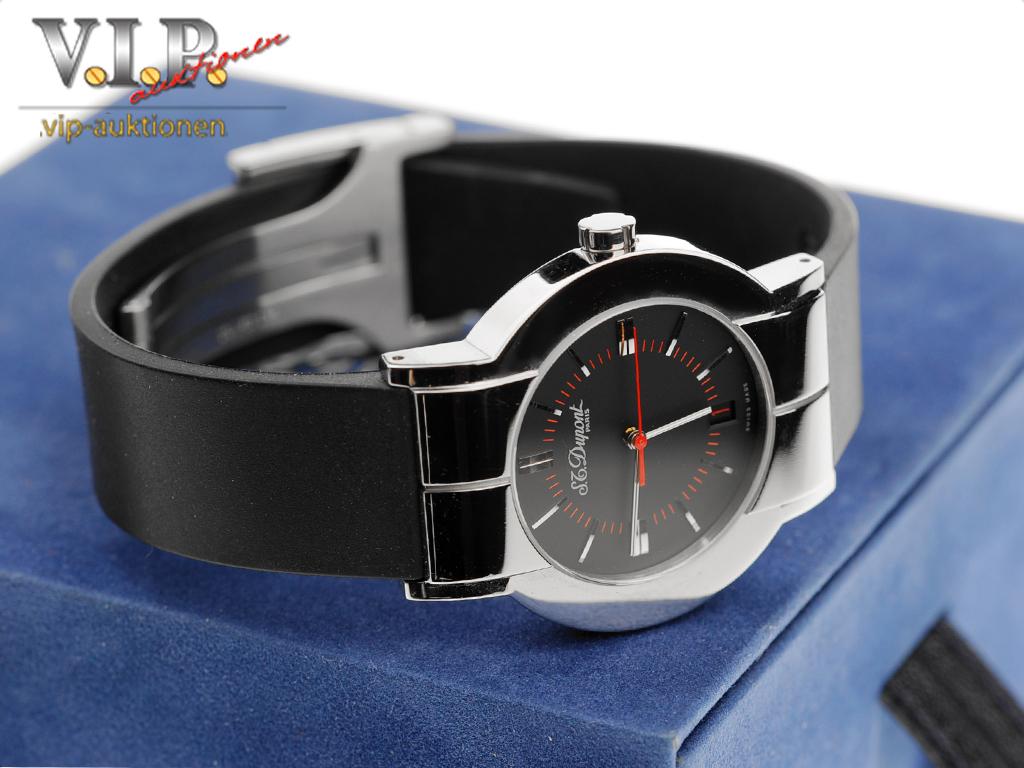 st dupont geometrie herrenuhr damenuhr unisex steel watch montre orologio reloj ebay. Black Bedroom Furniture Sets. Home Design Ideas